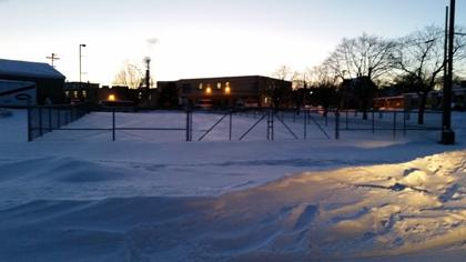 snow players lot