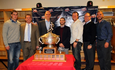 (L-R) Kool Keith, Kevin Boles, Ben Crockett, Brian Abraham (Red Sox) Matt Spring, Rich Gedman (Hitting Coach) Robby Scott.