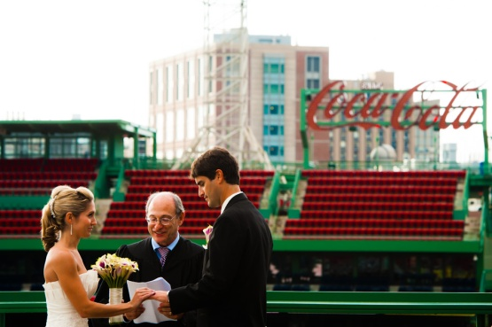 kimberly + blake   fenway park wedding   boston, mass