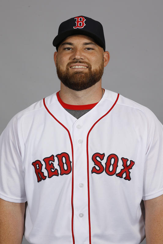 This is a 2016 photo of pitcher Sean O'Sullivan of the Boston Red Sox baseball team. This image reflects the 2016 active roster as of Feb. 28, 2016, when this image was taken. (AP Photo/Patrick Semansky)